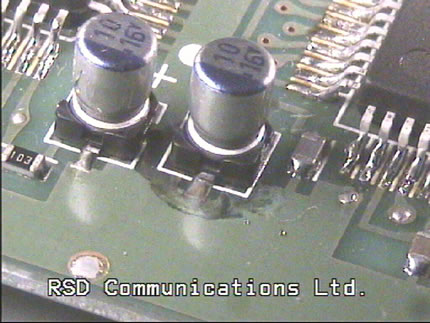 Kenwood TS-520S HF Transceiver Capacitors  Replacement  Capacitors